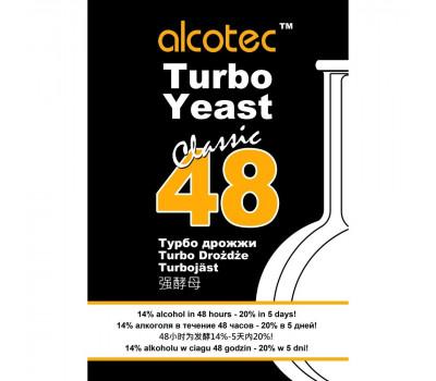 дрожжи спиртовые - винные ALCOTEC turbo 48 classic