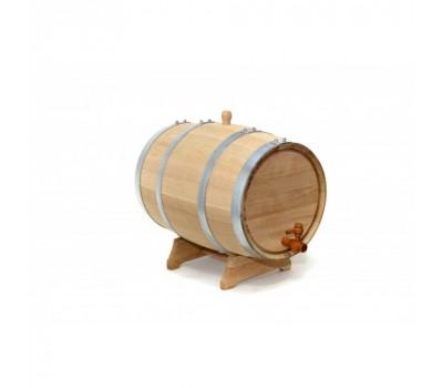 Бочка дубовая 10 литров. Колотый дуб
